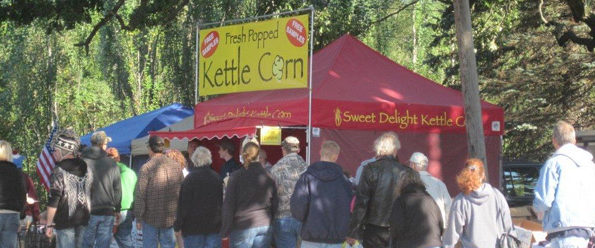 Sweet Delight Kettle Corn at Trimborn Fair