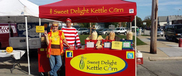 Sweet Delight Ma and Pa Kettle Corn
