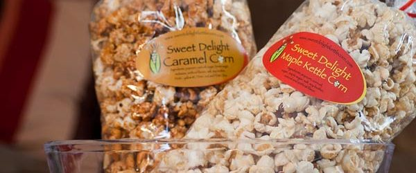 Bags of Sweet Delight Kettle Corn