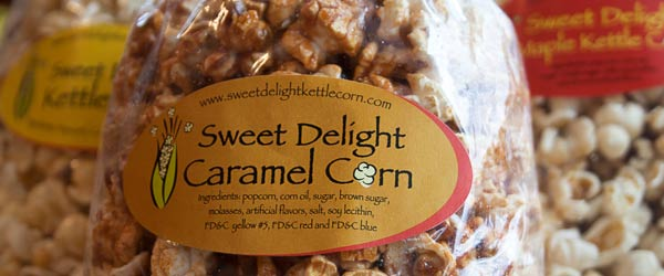Sweet Delight Bag of Kettle Corn